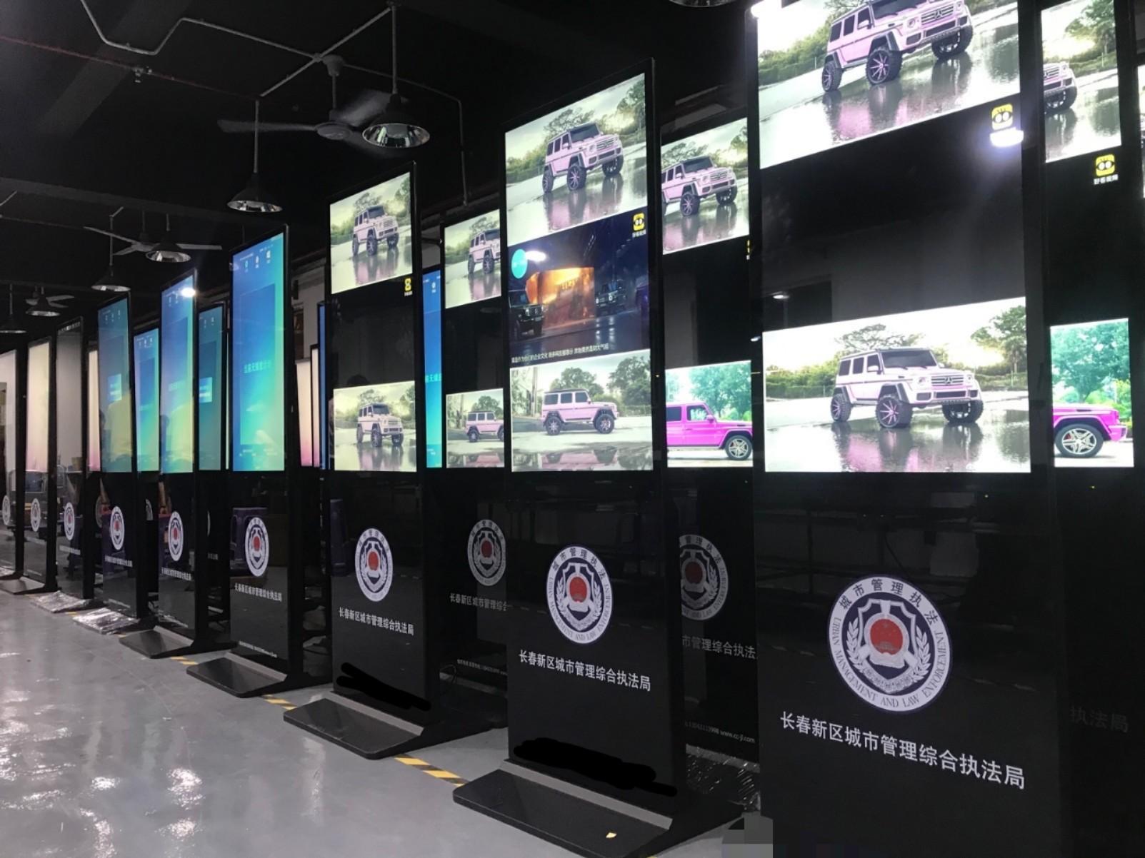 容仁科技 垃圾分类立式广告机为城市垃圾分类宣传增添风采