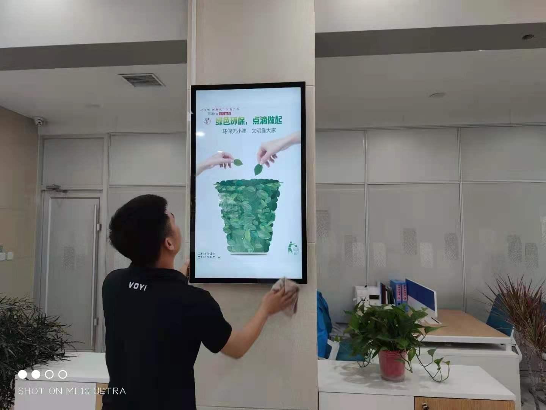 容仁壁挂网络广告机安装步骤需要注意那些点您知道吗?