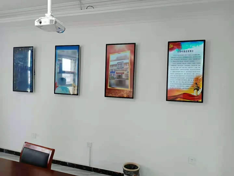 容仁壁挂式广告机和吊挂显示屏的固定位置选择