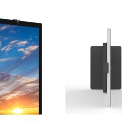 容仁 落地立式双屏终端机(带摄像头,打印机,刷卡器)