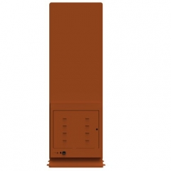 容仁 立式自助功德箱(支持刷卡器,打印机,二维码扫描)
