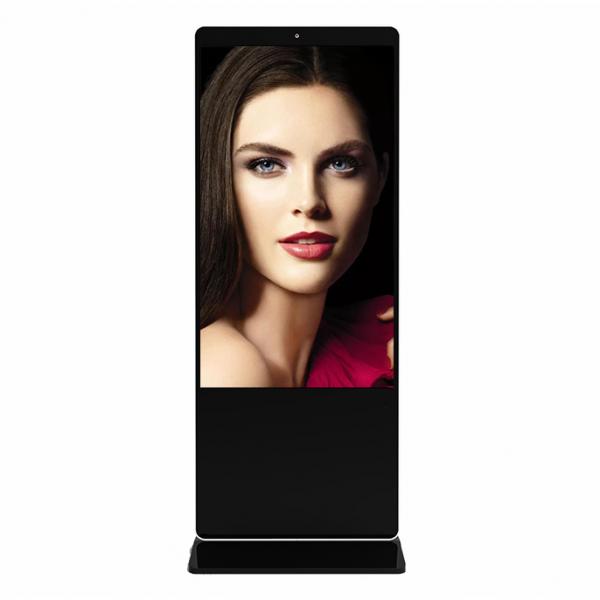 容仁65寸人脸识别立式液晶广告机